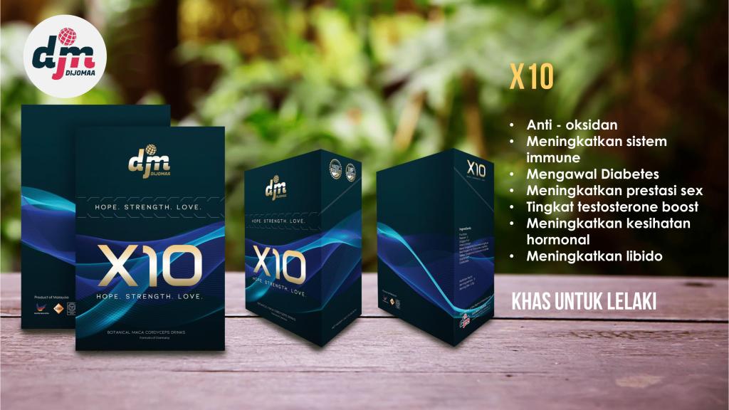 Dijomaa X10 - RM185